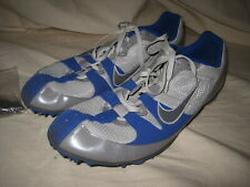Nike Zoom Rival MD 5 Track Spikes Men's US Size 10.5 Shoes 383823-001 Blue Gray