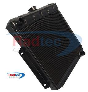 Lotus Cortina MK1 alloy radiator by Radtec