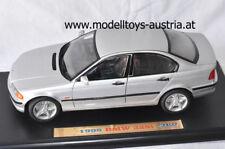 BMW E46 Limousine 328i 1998 silber metallik 1:18