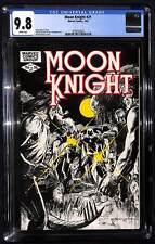 Moon Knight #21 CGC 9.8 Marvel Comics Doug Moench story