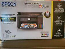 Epson ET-2750 Expression EcoTank Wireless Color All-in-One Printer with Scanner