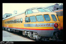 Milwaukee Road Hiawatha Skytop Observation Car postcard passenger train railroad