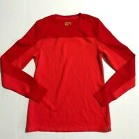 Koppen Long Sleeve Shirt Waffle Knit Crew Neck Thermal Long Sleeve Size M Womens