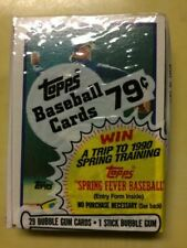 1989 Topps Baseball Unopened Cello Pack R8t4