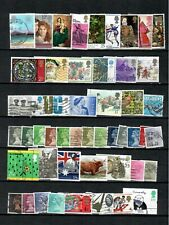 Uk Great Britain Collection Of Used Commemorative Stamp Lot (Uk 92)