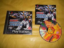 PS1 GAME-GUNDAM BATTLE ASSAULT-SONY PLAYSTATION-PAL-PS2-PS3-ITALIANO-ITA