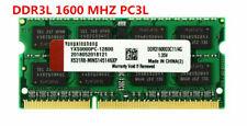4GB / 8GB DDR3L 1600MHz Laptop Memory PC3L-12800 Non-ECC 1.35V 204Pin SODIMM RAM