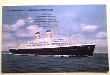 ss Independence . American Export Lines Ocean Liner Cruise Ship Vessel Sea Boat