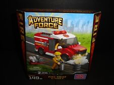 ADVENTURE FORCE MEGA BLOKS FIRE CHIEF TRUCK 149 PCS   NEW