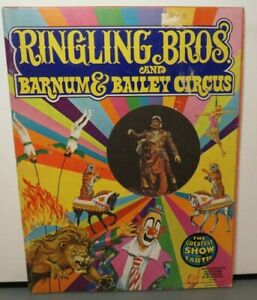 RINGLING BROTHERS AND BARNUM & BAILEY CIRCUS 103TH EDITION 1974