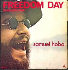 JEAN MICHEL JARRE SAMUEL HOBO FREEDOM DAY SYNTHETIC MAN 45T SP AZ SG 377