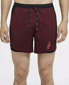 NEW Nike Mens XL Flex Stride Future Fast 2-in-1 Running Athletic Shorts Beet Red