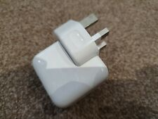 GENUINE Apple 10W iPad Charger Wall Plug Fast Mains Power Adapter iPhone X 8 7 6