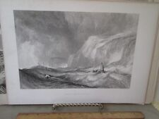 VIntage Print,WRECK OFF HASTINGS,J.M.W.Turner