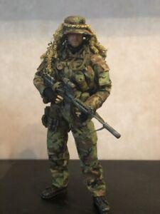1/6 rare Tears of the Sun Navy Seal Recon Team Marksman Damtoys 93013