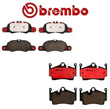 For Porsche Boxster Cayman Set Pair of Front and Rear Ceramic Brake Pads Brembo