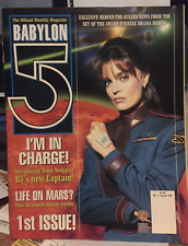 Babylon 5 Official Monthly Magazine #1 - First issue - Aug 1999