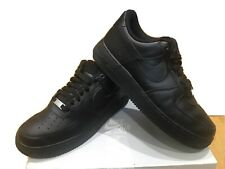 Mens Nike Air Force 1  Trainers Size 7.5 Black With Box