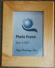 """Arts&Craft pine wood grain 5.25x6.75"""" Decorative Picture Frame for 3.5x5"""" photo"""