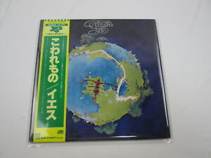 YES FRAGILE ATLANTIC P-6525A  with OBI Japan VINYL  LP
