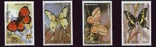 Zambia 1997 Butterflies and Moths of Africa 4 Stamp Set 26A-013