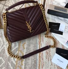 ✮✭✮Saint Laurent Matelasse Monogram Bag black