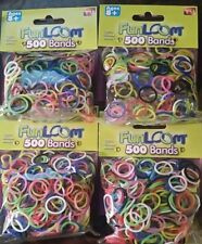 4 As Seen on TV  Fun Loom 500 band refill packs (2000)