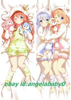 "Is the Order a Rabbit Kafuu Chino Anime Dakimakura Hug Body Pillow Case 59/"""