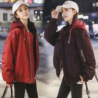 New Women's Winter Korean Loose Cotton Jacket double-sided wearing short Coat