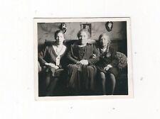 31/751  FOTO - ALTE ZEITEN -  OSTERN JAHR 1931 - DREI GENERATIONEN - KLEIDUNG