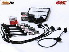 LEXUS ES300 3VZ-FE 3.0L V6 VCV10 OIL AIR FUEL filter SPARK PLUGS+IGN LEADS 92-96