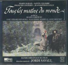 OST CD Tous Les Matins Du Monde-J.Savall-Marais/Sainte Colombe/Couperin,++ NM/NM