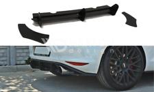 GOLF 7 VII MK7 GTI REAR BUMPER LIP VALANCE DIFFUSER + REAR SIDE SPLITTERS SPATS