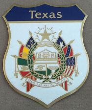 Texas Legislative Medal Of Honor Self Adhesive Metal Emblem Decal / Sticker (LG)