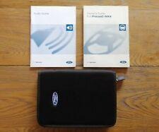 FORD FOCUS C-MAX (2003 - 2007) Owners Manual / Handbook + Audio Guide + Wallet