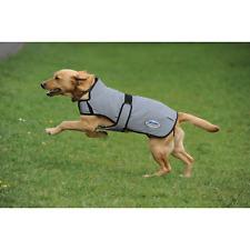 More details for weatherbeeta comfitec reflective dog coat medium - silver