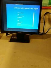 Acer V173bm 17 inch LCD Monitor with VGA Input