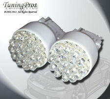 (1 Pair) Set of 2 pcs Backup Reverse 3156 19 White LED Light Bulbs