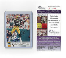 2002 PACKERS Donald Driver signed card JSA COA Pacific #160 AUTO Autographed