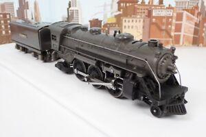 Vintage Prewar Lionel O Gauge No.224E Gunmetal Steam Engine & Whistle Tender