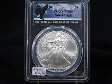 2010 American Eagle Silver Dollar - PCGS MS 69  (17-043)