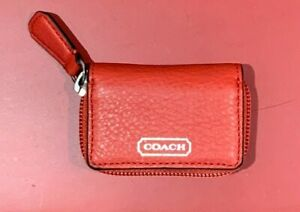 Coach Contact Lens Case Red F66177