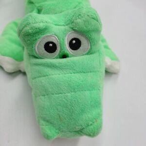 Jumpin Banana Chuckle Buddies Alligator Electronic Plush Roll Laugh Green