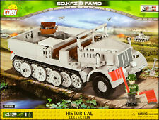 COBI Sd.Kfz. 9 Famo (2522) - 412 elem. - WWII German half-track