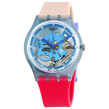 Swatch Varigotti Transparent Dial Ladies Watch GL118