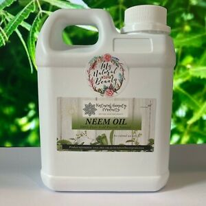Organic 100% Pure Neem Seed Oil- Cold Pressed- 200ml, 300ml or 1 Litre