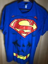 Auténtico Superman T-Shirt Large Excelente Estado.