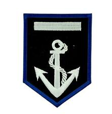 Patch Embroidered Badge Flag Backpack Anchor Marine Boat Coat of Arms Patch