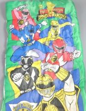 Vintage 1995 Saban's Mighty Morphin Power Ranger Children's Sleeping Bag Blanket