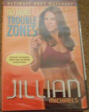 Jillian Michaels No More Trouble Zones Workout Fitness Exercise DVD Strength